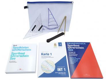 SBF See Set (Buch, Prüfungsbögen, INT1 und Navi-Set)