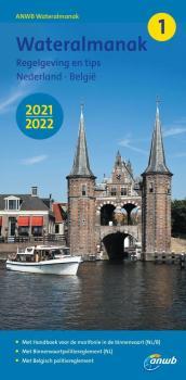 ANWB Water Almanak 1  2021/2022 Niederlande - Belgien