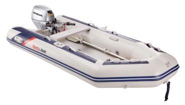 'HonWave T32-IE3'- Schlauchboot mit Luftboden