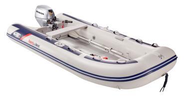 HonWave T35-AE3 Schlauchboot mit Aluminiumboden