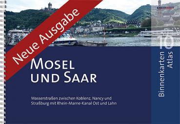 Kartenwerft Binnenkarten Atlas 10 Mosel und Saar
