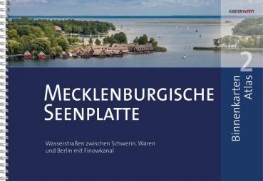 Kartenwerft Binnenkarten Atlas 2 Mecklenburgische Seenplatte