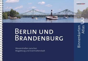 Kartenwerft Binnenkarten Atlas 3 Berlin Brandenburg