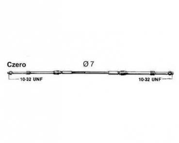 Ultraflex MACHZero Schalt- / Gaskabel für Außenborder