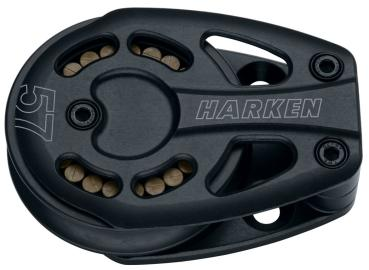 HARKEN 3220 Black Magic Air Block 57mm Umlenkblock - Einer - Festmoniert