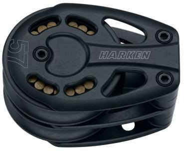 HARKEN 3222 Black Magic Air Block 57mm Umlenkblock - Zweier - Festmoniert