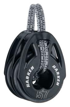 HARKEN 2153 57mm Carbo T2 Block zweifach