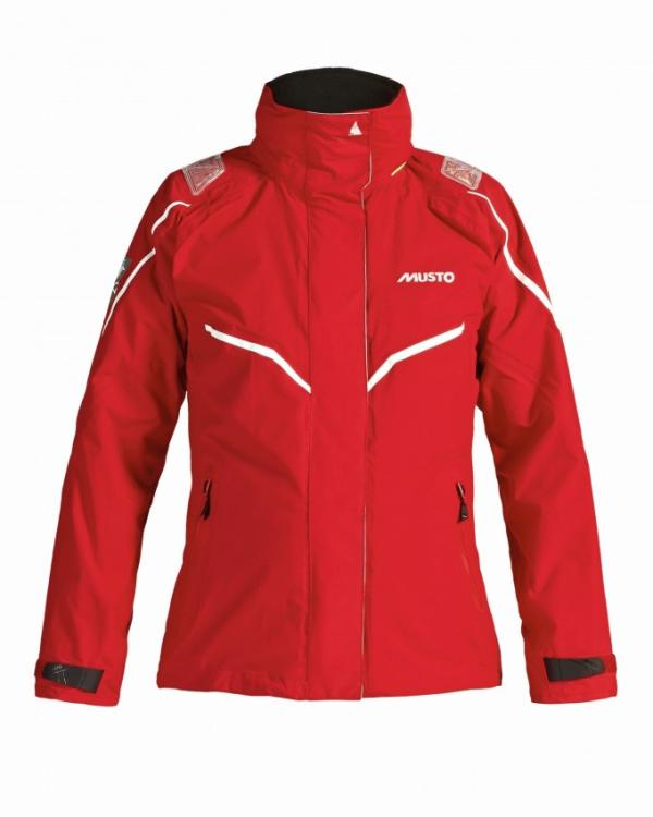 Musto BR1 Channel Jacke Ladies red